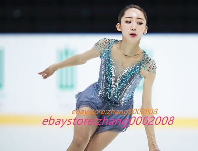 Ice skating dress.Sparkle Baton Twirling  Dance Competition Figure Skating dress