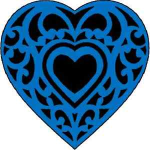 30-Custom-Blue-Decorative-Heart-Personalized-Address-Labels