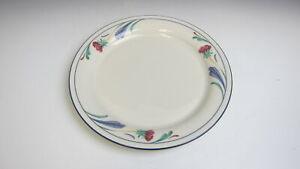 Lenox-China-POPPIES-ON-BLUE-Salad-Plate-VERY-GOOD