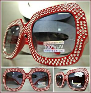 dc866b72b8a8 Image is loading OVERSIZE-EXAGGERATED-VINTAGE-Classy-RETRO-Style-SUNGLASSES- Large-