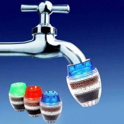 Home Kitchen Coconut Carbon Cartridge Faucet Tap Water Purifier-Filte Clean V7R4