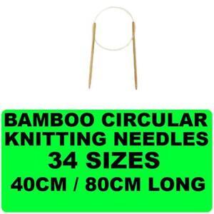 New-Bamboo-Circular-Knitting-Needle-Sewing-Yarn-Various-Sizes-Tapestry-Needles