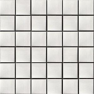 Brushed Stainless Steel Metal Mosaic Wall Tiles Kitchen Bathroom Sheet MT0035 - <span itemprop=availableAtOrFrom>Aberdare, United Kingdom</span> - Important note: To avoid unnecessary returns please: Check the technical drawings on the listing to make sure it is the right size for you. If you aren't sure then please ask us. Check t - Aberdare, United Kingdom