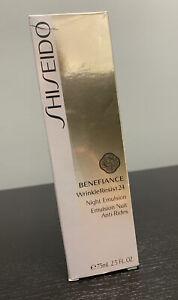 NIB Shiseido Benefiance Wrinkle Resist 24 Night Emulsion..