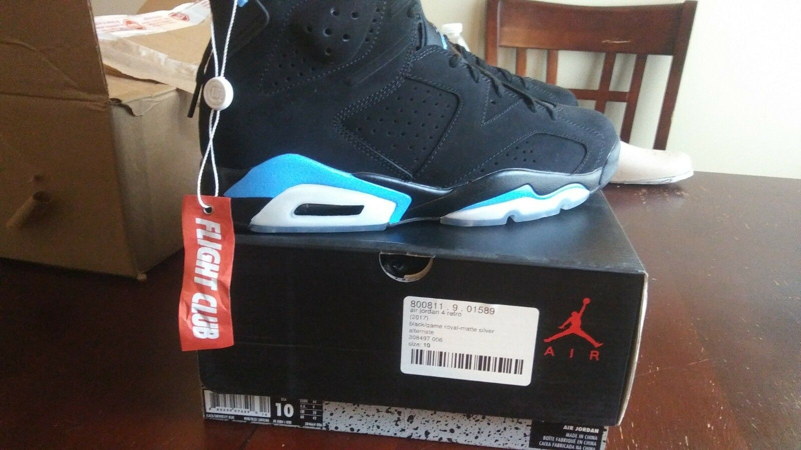 air jordan retro 6 unc NIB mens size 10