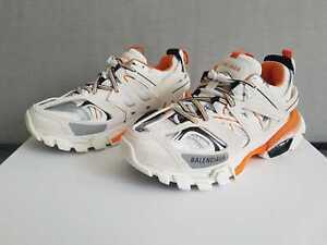 Balenciaga Track Sneakers White Orange Women S Sizes Eu 35 36 37 38 39 Ebay