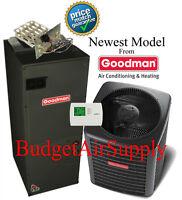2 Ton 14 Seer 410a Goodman A/c System Gsx140241+aruf29b14 Newest Model on sale