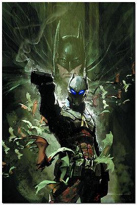 Batman Arkham Knight Genesis Game Silk Fabric Poster 24x36 inch 010