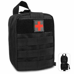 Tactical First Aid Kit Survival Molle Military Medical Bag Utility EMT Pouch US