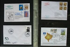 S1537-Kosovo-FDC-Collection-2000-Sept-2009-Documents-with-Zd-Arc-2006