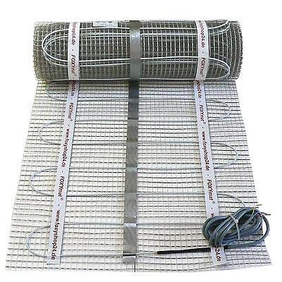 suelo radiante eléctrico 4 5 6 7 8 9 10 qm TWIN CALIDAD PREMIUM - FOXYMAT