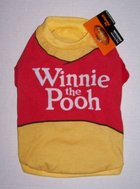 057ee93de564 Disney Winnie The Pooh Dog Halloween Costume Size X Small XS T-shirt ...