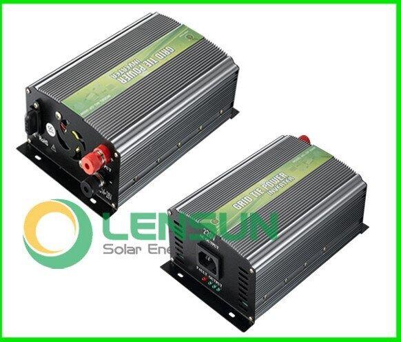 350W 500W Solar Generator Grid tie Inverter für 12V/24V Solar Module 190-260V AC