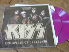 KISS The spirit of cleveland 2Lp Vynil couleur Live richfied 76+destroyer demos