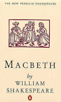 """AS NEW"" MACBETH (NEW PENGUIN SHAKESPEARE), WILLIAM SHAKESPEARE, Book"