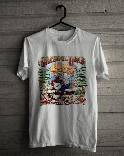 Grateful Dead Fall Tour 1994 Banjo Skeleton Mountain T-Shirt Gildan reprint