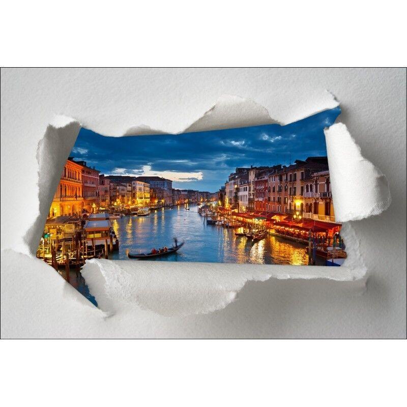 Aufkleber Schein Auge Venedig 371