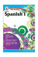Spanish I Grades 6 - 8 (skill Builders) Free Shipping