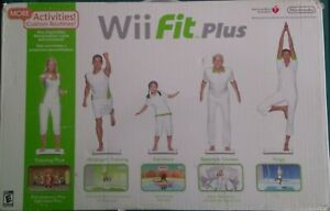 NINTENDO WII FIT PLUS BALANCE BOARD COMPLETE WITH BOX NO GAME TESTED & WORKING