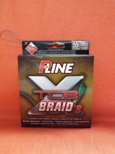 300yd #PXB8300-20 Green P-LINE XTCB 8 Braid Fishing Line 20lb