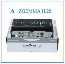 ORIGINAL ZGEMMA-H-2S-Dual -Core SATELLITE-RECEIVER FREE TO AIR