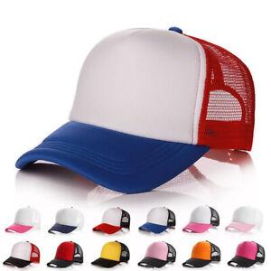 3Colors-Hat-Men-Women-Cotton-Baseball-Cap-Mesh-Hat-Adjustable-Outdoor-Sport-NEW