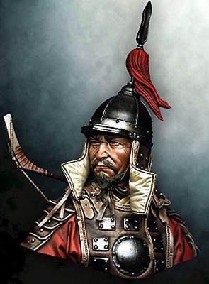 ███ 1//10 Resin Knights Hospitaller after fighting Bust Unbuild Unpainted MX089