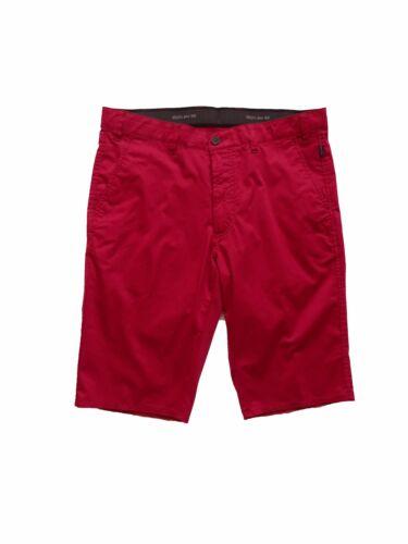 Brühl-Pantaloncini da uomo in cotone in rosso Venice Short 0622181690100