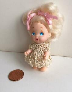 Tiny-Dress-for-Vintage-2-1-2-034-Tyco-Quints-Doll-Beige-USA-Made-OOAK-Lot-Q-23-New