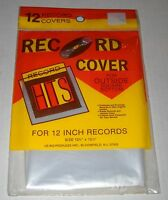 Vintage Le-bo Record Covers For 12 Outside Sqaure Bottom, 12 Ct, Sealed