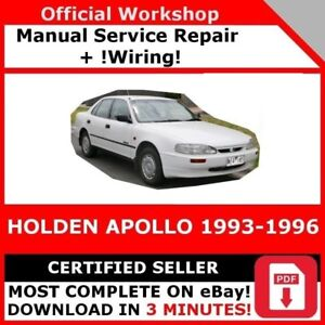 Details about # FACTORY WORKSHOP SERVICE REPAIR MANUAL HOLDEN APOLLO on fisher wiring diagram, at&t wiring diagram, ge wiring diagram, yamaha wiring diagram, camaro wiring diagram, matrix wiring diagram, acura wiring diagram, mustang wiring diagram, eclipse wiring diagram, jvc wiring diagram, kenwood wiring diagram, 3000gt wiring diagram, mitsubishi wiring diagram, toyota wiring diagram, pioneer wiring diagram, sony wiring diagram, technics wiring diagram, bmw wiring diagram, nissan wiring diagram, ford wiring diagram,
