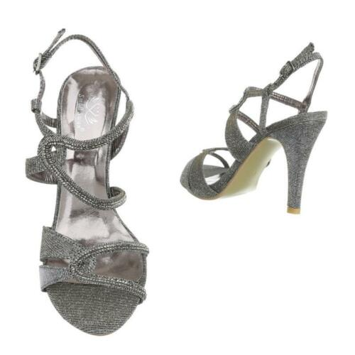 Sandalette Damen Schuhe Small Swan 36 37 38 39 40 41