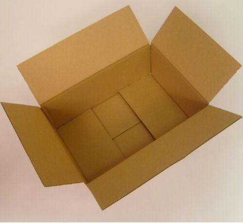 Innen-Mass Versandkartons 1-wellig Faltkarton braun 250 x 175 x 100 mm