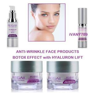 REGAL-Anti-ageing-Anti-wrinkle-face-cream-Eye-serum-Hyaluron-lift-Select