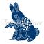 Tattered Lace Bunny/'s Almuerzo-Craft Corte Conejo Die-TLD0335-libre de Reino Unido P/&p