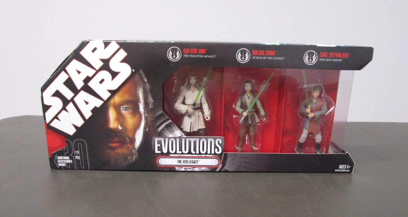 The Jedi Legacy 2007 STAR WARS 30th Anniversary Evolution battle Packs MIB