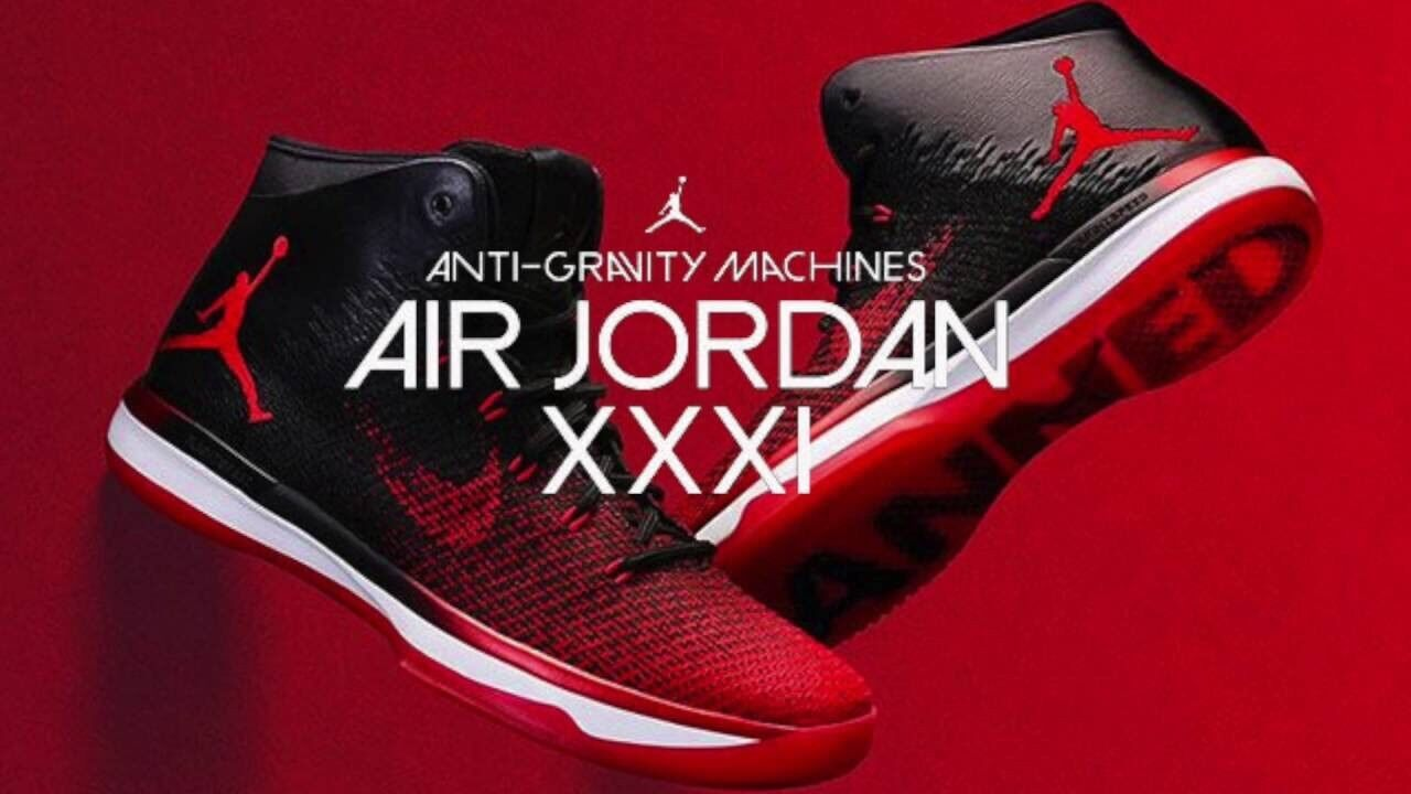 Nike Air Jordan 31 XXXI Banned Black Red 1 Bred 845037-001 Basketball Shoes 10.5