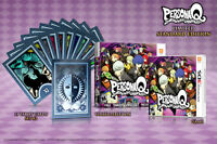 Persona Q: Shadow Of The Labyrinth & Tarot Cards [nintendo 3ds, First Print]
