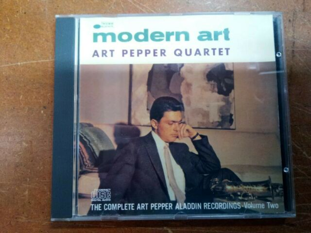 ART PEPPER - MODERN ART: THE COMPLETE ART PEPPER ALADDIN RECORDINGS-VOL. 2 NEW C