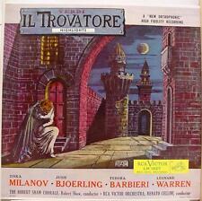 ROBERT SHAW CHORALE verdi il trovatore LP Mint- LM 1827 Vinyl 1955 Record
