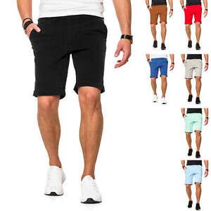 Jack-amp-Jones-Herren-Chino-Shorts-Bermudas-3-4-Hose-Herrenhose-Stretch-Unifarben