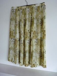 Ladies-Lovely-Roman-Green-Mix-Floral-Calf-Length-Pleated-Skirt-Size-14-Vgc