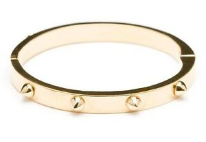 Image Is Loading Cc Skye Gold Mini Love Spike Bracelet
