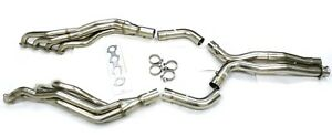 Maximizer Exhaust Long Tube Header w/ X-Pipe for 03-06 Mercedes E55 CLS55 AMG