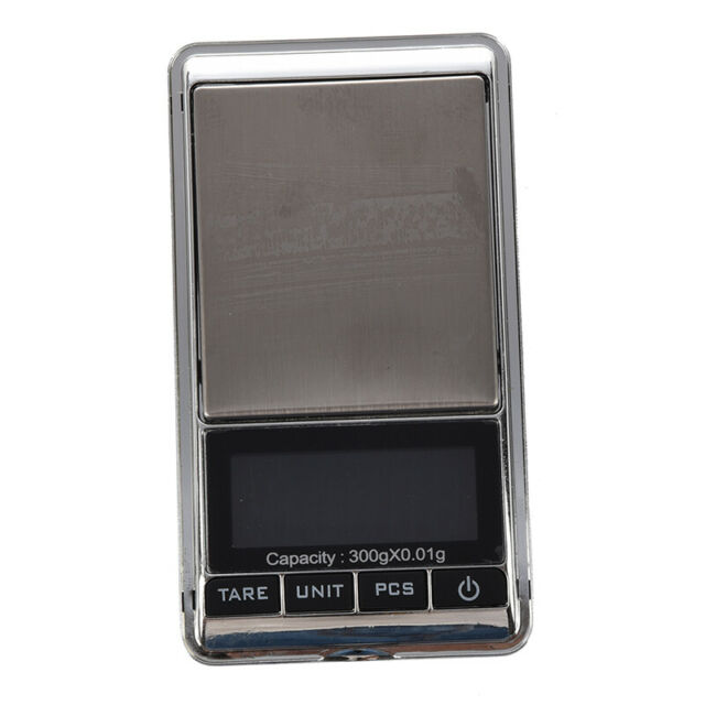 New 300g x 0.01g Mini Digital Protable Jewelry Pocket Gram Scale W1Q8