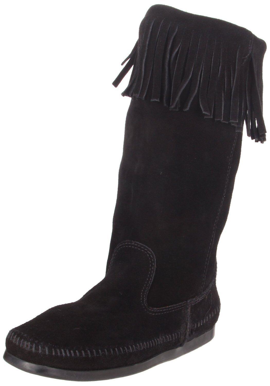 Women's Minnetonka Womens 3-In-1 Calf Hi Boot Black 1629