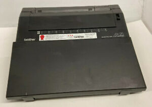 Brother AX-25 Electronic Typewriter with Cover - For Parts