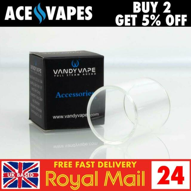 Vandy Vape Kylin Rta 6ml Replacement Pyrex Glass Piece Vandyvape