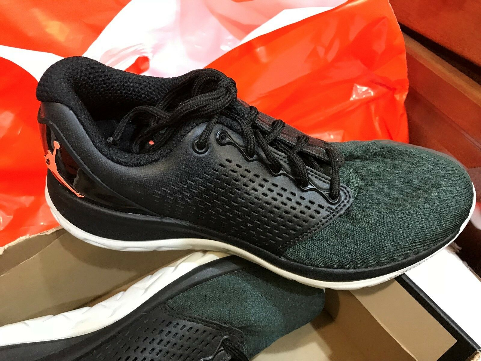 Nike Jordan Trainer ST Winter Mens Shoes 9 Black Grove Green Mango 854562 012 Special limited time