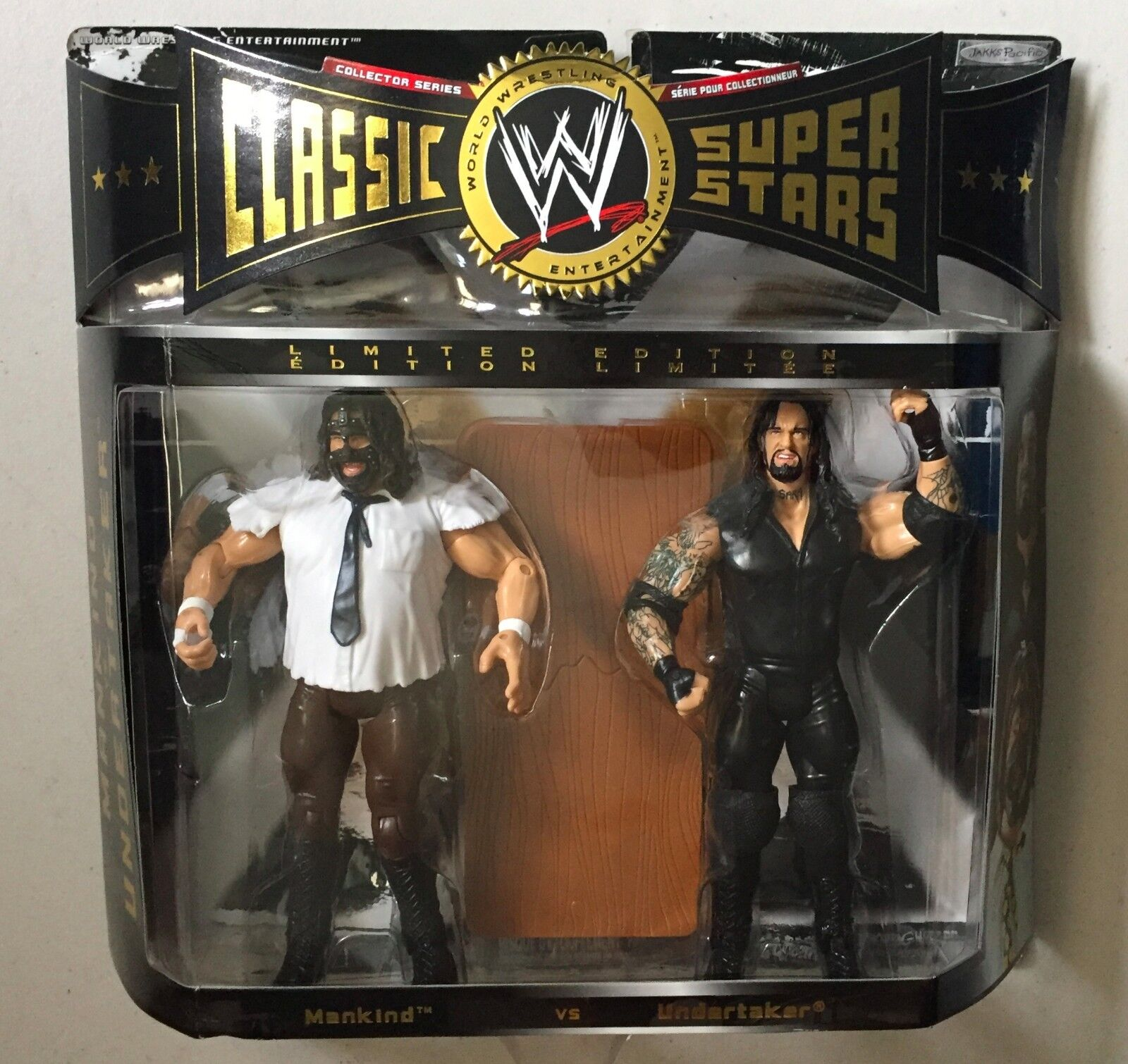 WWE Classic Superstars MANKIND vs UNDERTAKER Hell in Cell WWF Wrestling Figures